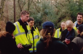Sabs clamour for autographs from Surrey police's new boy band