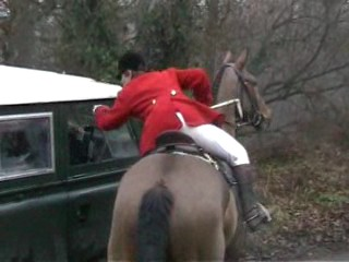 huntsman threatening sab driver