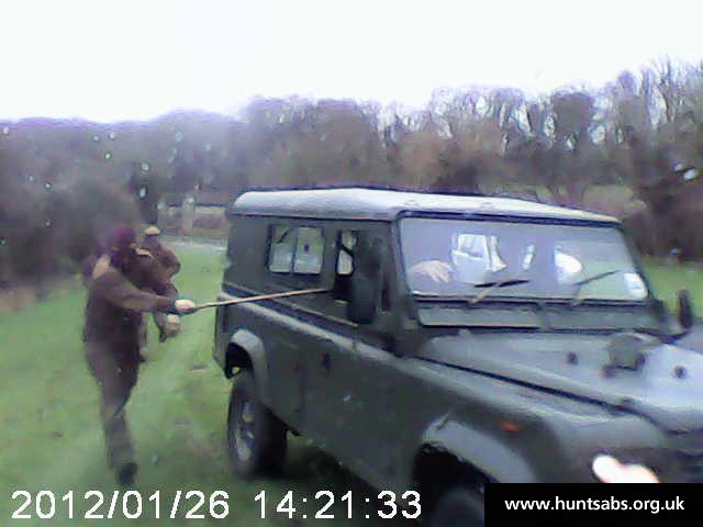 South Downs Landrover Attack - Boxing Day 2012