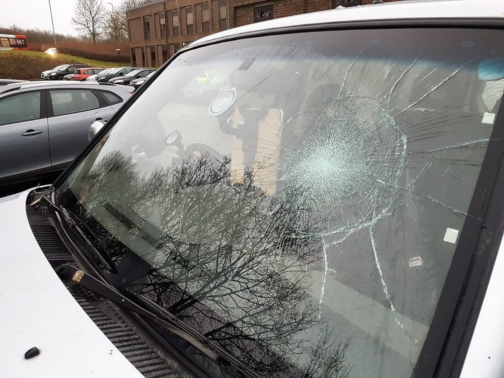 North Cambs Windows Smashed 1