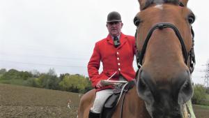 Gary Thorpe, Huntsman of the East Essex Hunt