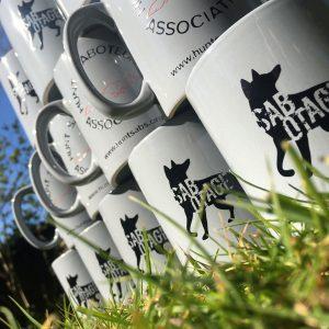 sabotage mug