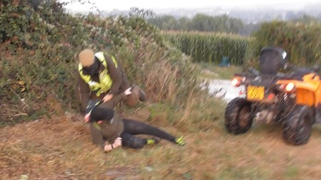 Portman 'steward' attacks brave North Dorset sab