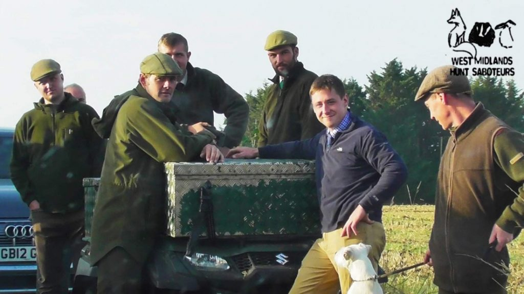 Warwickshire Hunt's large terrier crew failed to deter sabs.